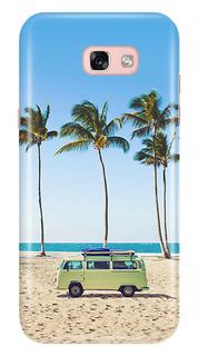 Аксессуар Чехол Samsung Galaxy A5 2017 A520 With Love. Moscow Beach 6945
