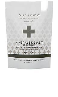 Соль для ванн minerals de mer - Pursoma