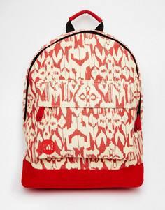 Рюкзак с принтом икат Mi-Pac - Красный