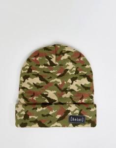 Камуфляжная шапка-бини Hesit - Зеленый Heist