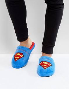 Слиперы с логотипом Супермена Fizz - Синий Slipper