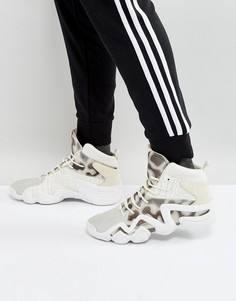 Белые трикотажные кроссовки adidas Originals Crazy 8 BY4367 - Белый