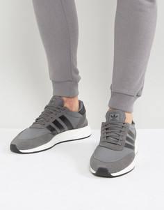 Серые кроссовки adidas Originals Iniki Runner Boost BY9732 - Серый