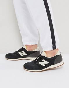 Черные кроссовки New Balance 420 Gum U420LBL - Черный