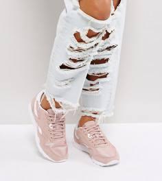 Розовые нейлоновые кроссовки Reebok Classic - Розовый