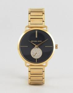 Золотистые наручные часы Michael Kors MK3788 Portia - Золотой