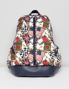 Рюкзак с принтом флагов в стиле 90-х Tommy Jeans Capsule - Мульти