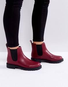 Ботинки челси Monki - Красный