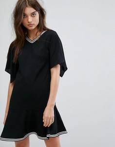 Платье с заниженной талией All Saints Alice - Черный