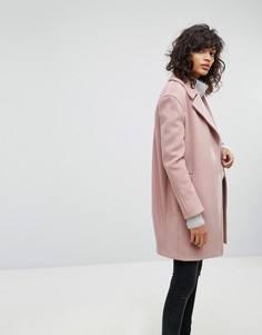 Пальто оверсайз All Saints Remi - Розовый