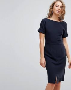 Платье-футляр Selected New Smile - Темно-синий