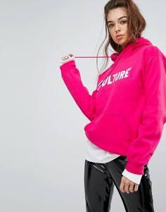 Оверсайз-худи с логотипом Migos - Розовый Bravado Tour Merch