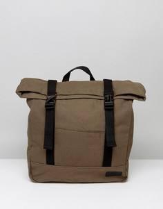 Парусиновый рюкзак-шоппер цвета хаки Dead Vintage - Зеленый