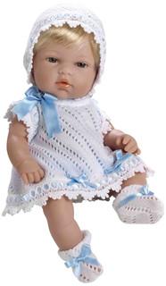 Кукла Arias Elegance Пупс блондинка White-Blue Т59269