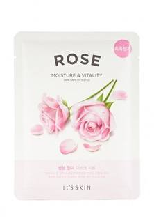 """Тканевая маска для лица Its Skin Укрепляющая """"The Fresh"""", роза, 20 г"""