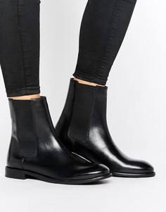 Кожаные ботинки челси H by Hudson - Черный