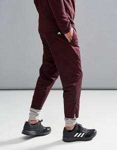 Фиолетовые джоггеры adidas BS4845 - Красный