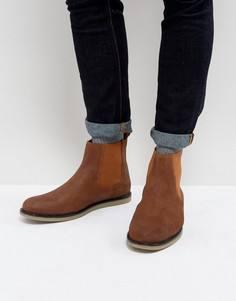 Светло-коричневые ботинки челси Original Penguin London - Рыжий