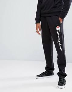 Джоггеры с логотипом Champion - Черный