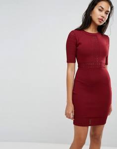 Облегающее платье мини Morgan - Красный
