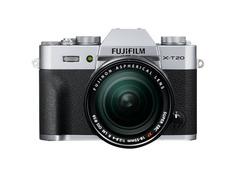 Фотоаппарат FujiFilm X-T20 Kit 18-55 mm Silver