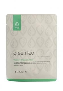 """Тканевая маска для лица Its Skin для жирной и комбинированной кожи """"Green Tea"""", 17г"""