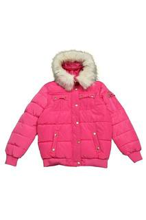 Куртка с застежкой на молнию и кнопки DKNY