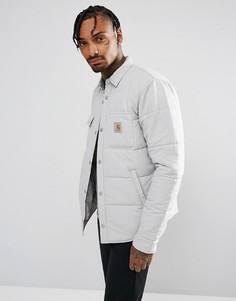 Рубашка-куртка на подкладке Carhartt WIP Sheldon - Серый
