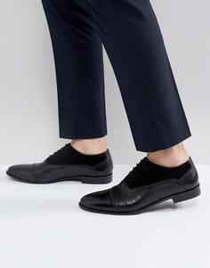 Замшевые туфли на шнуровке Kg By Kurt Geiger - Черный