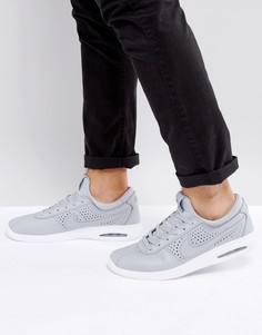 Серые кожаные кроссовки Nike SB Stefan Janoski Max 685299-012 - Серый