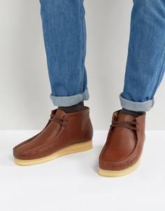Кожаные ботинки Clarks Originals Horween - Рыжий