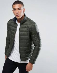Легкая дутая куртка Solid - Зеленый !Solid