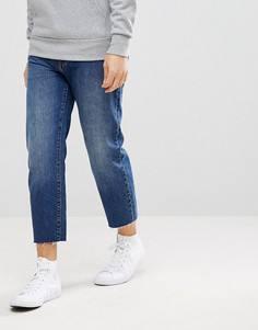 Укороченные джинсы с необработанным низом Dr Denim Otis - Синий