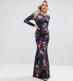 Длинные платья бархатные – купить длинное платье в интернет-магазине ... 59351fbdcfe
