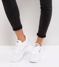 Белые лакированные кроссовки Reebok Classic - Белый