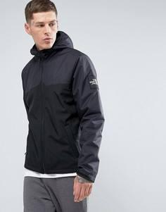 Черная мягкая куртка с капюшоном в 2 тонах The North Face Westpeak - Черный