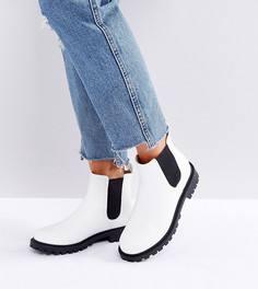 Ботинки челси Monki - Белый