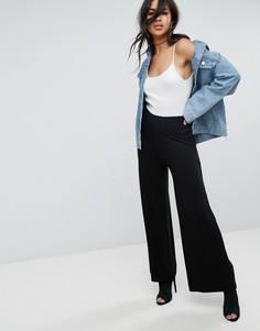 Широкие брюки ASOS - Черный