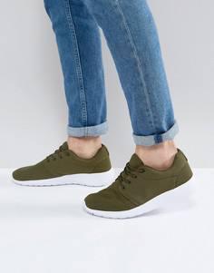 Кроссовки цвета хаки Loyalty & Faith - Зеленый