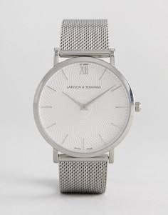 Серебристые часы Larsson & Jennings LGN40 Lugano & Norse Sloane - Серебряный