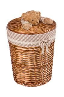 Корзина Natural House «Медвежонок» ива L коричневый