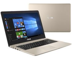 Ноутбук ASUS VivoBook Pro 15 N580VD-DM230T 90NB0FL1-M07690 (Intel Core i7-7700HQ 2.8 GHz/8192Mb/1000Gb + 128Gb SSD/No ODD/nVidia GeForce GTX 1050 2048Mb/Wi-Fi/Bluetooth/Cam/15.6/1920x1080/Windows 10 64-bit)