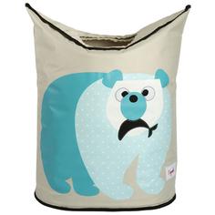 Корзина 3 Sprouts Blue Polar Bear SPR603