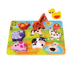 Игрушка Mapacha Вкладыши Животные 76726