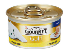 Корм Gourmet Gold Курица Паштет 85g для кошек 20945
