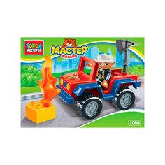 Конструктор Город Мастеров Большие кубики: Пожарная машина LL-1004-R