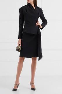 Винтажный костюм с юбкой Christian Dior Vintage