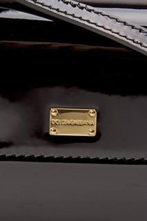 Лакированная сумка Dolce&Gabbana Children