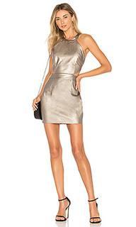 Мини-платье из искусственной кожи willa - by the way.