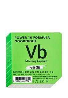 "Тканевая маска для лица Its Skin Ночная маска-капсула ""Power 10 Formula Goodnight Sleeping"", для проблемной кожи, 5г"